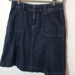 Sonoma Denim Midi Skirt 10